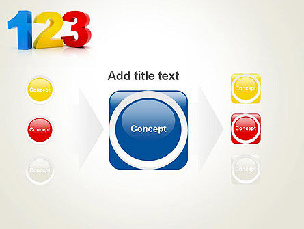 Numbers 123 PowerPoint Template Slide 17