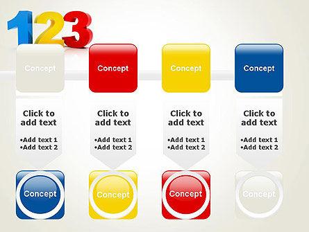 Numbers 123 PowerPoint Template Slide 18