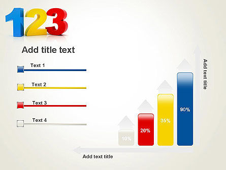 Numbers 123 PowerPoint Template Slide 8