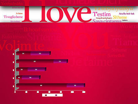 Declaration of Love in Different Languages PowerPoint Template Slide 11