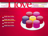 Declaration of Love in Different Languages PowerPoint Template#12