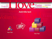 Declaration of Love in Different Languages PowerPoint Template#13