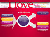 Declaration of Love in Different Languages PowerPoint Template#15