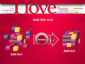 Declaration of Love in Different Languages PowerPoint Template#17