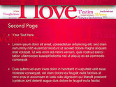 Declaration of Love in Different Languages PowerPoint Template#2