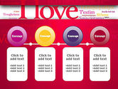 Declaration of Love in Different Languages PowerPoint Template#5