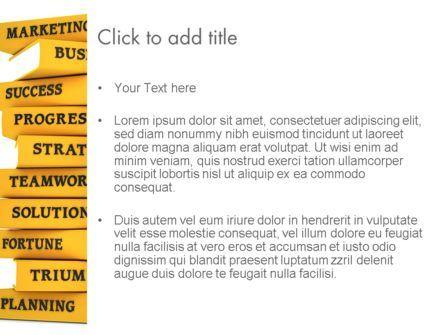 Business Books PowerPoint Template, Slide 3, 13427, Education & Training — PoweredTemplate.com