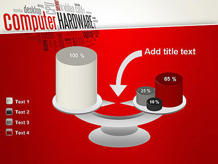 Computer Hardware Word Cloud PowerPoint Template Slide 10