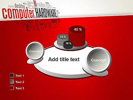 Computer Hardware Word Cloud PowerPoint Template Slide 16