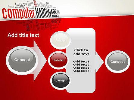 Computer Hardware Word Cloud PowerPoint Template Slide 17