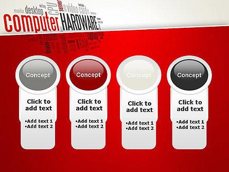 Computer Hardware Word Cloud PowerPoint Template Slide 5