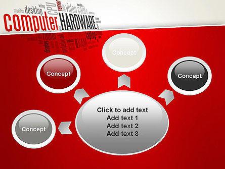 Computer Hardware Word Cloud PowerPoint Template Slide 7