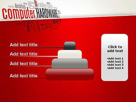 Computer Hardware Word Cloud PowerPoint Template Slide 8