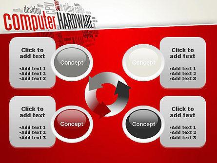 Computer Hardware Word Cloud PowerPoint Template Slide 9