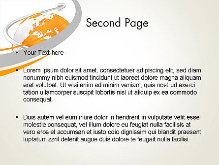 Orange Countries PowerPoint Template, Slide 2, 13430, Global — PoweredTemplate.com