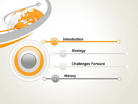 Orange Countries PowerPoint Template, Slide 3, 13430, Global — PoweredTemplate.com
