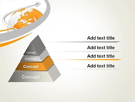 Orange Countries PowerPoint Template, Slide 4, 13430, Global — PoweredTemplate.com