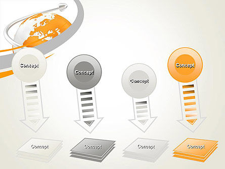 Orange Countries PowerPoint Template Slide 8