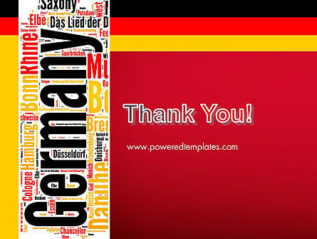Germany Word Cloud PowerPoint Template Slide 20