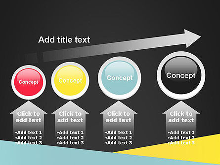 Abstract Intersecting Stripes PowerPoint Template Slide 13