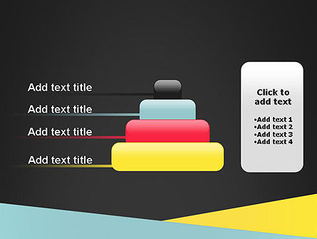 Abstract Intersecting Stripes PowerPoint Template Slide 8