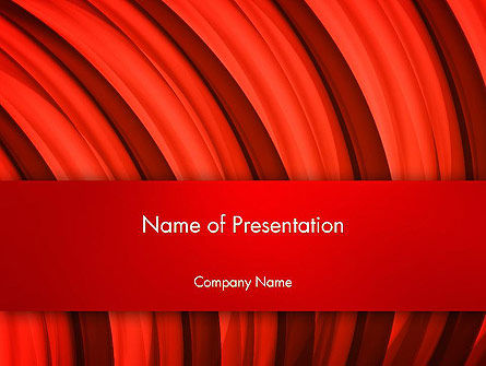 Undulating PowerPoint Template, 13435, Abstract/Textures — PoweredTemplate.com