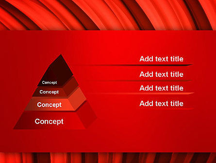 Undulating PowerPoint Template Slide 12