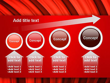Undulating PowerPoint Template Slide 13