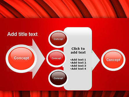Undulating PowerPoint Template Slide 17