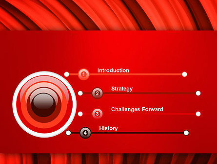 Undulating PowerPoint Template, Slide 3, 13435, Abstract/Textures — PoweredTemplate.com