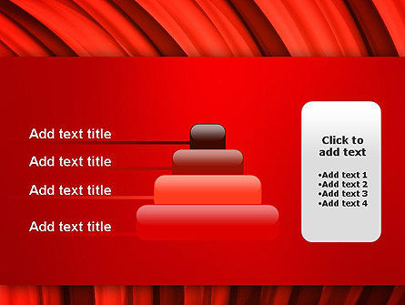 Undulating PowerPoint Template Slide 8