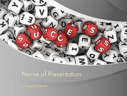 Successful Strategy PowerPoint Template, 13438, Education & Training — PoweredTemplate.com