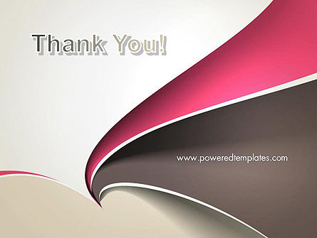 Abstract Fan Shape PowerPoint Template Slide 20