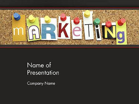 Careers/Industry: Marketing and Advertising PowerPoint Template #13440