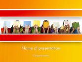 Education & Training: Tijd Van Het Verhaal Met Kinderen PowerPoint Template #13441