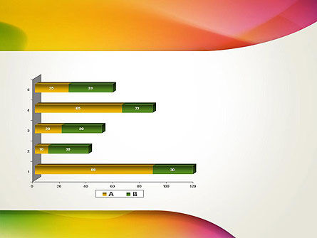 Orange Green Gradient Abstract PowerPoint Template Slide 11