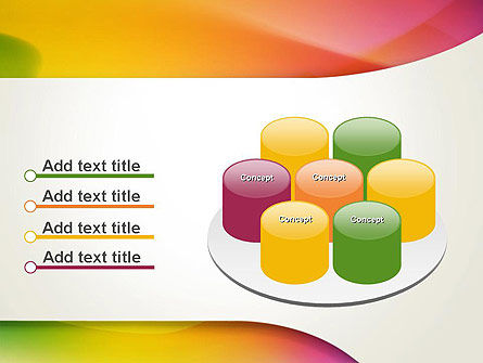 Orange Green Gradient Abstract PowerPoint Template Slide 12