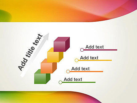 Orange Green Gradient Abstract PowerPoint Template Slide 14