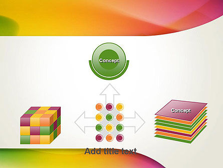 Orange Green Gradient Abstract PowerPoint Template Slide 19