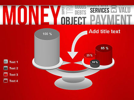 Money Word Cloud PowerPoint Template Slide 10