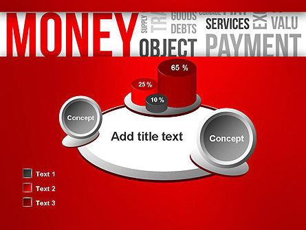 Money Word Cloud PowerPoint Template Slide 16