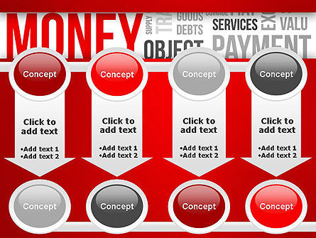 Money Word Cloud PowerPoint Template Slide 18