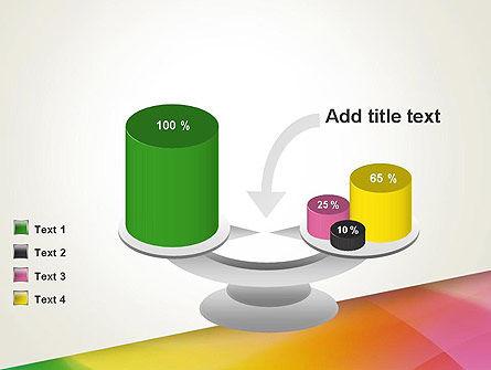Orange Green Gradient PowerPoint Template Slide 10