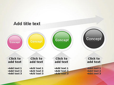 Orange Green Gradient PowerPoint Template Slide 13