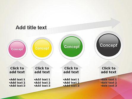 Orange Green Gradient PowerPoint Template Slide 13