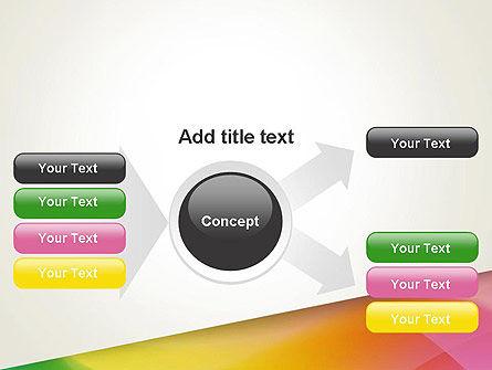 Orange Green Gradient PowerPoint Template Slide 14