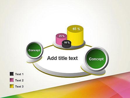 Orange Green Gradient PowerPoint Template Slide 16