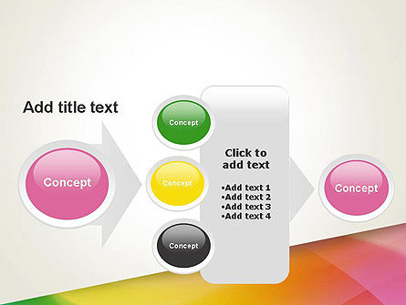 Orange Green Gradient PowerPoint Template Slide 17