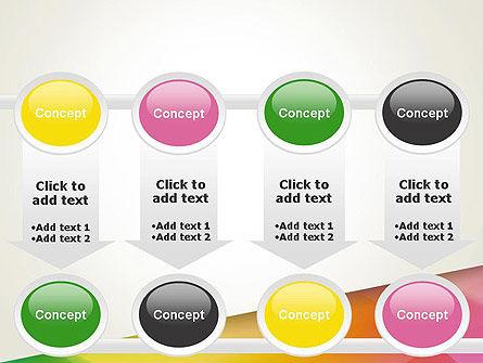 Orange Green Gradient PowerPoint Template Slide 18