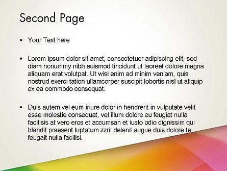 Orange Green Gradient PowerPoint Template Slide 2